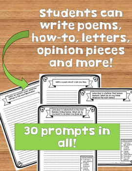 Daily Writing Prompts for September