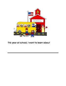 Writing Prompts for September for Pre-K and Kindergarten
