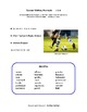 Writing Prompts | TEAM SPORTS | Guidelines,Tips, Rubrics, Checklists, Word Banks