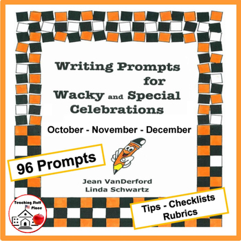 Writing Prompts | MONTHLY | October, November, December UN