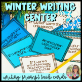 Writing Prompts for Writing Centers- Winter Themed- 4th Gr