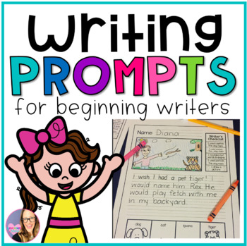 Monthly Writing Prompts for Beginning Writers