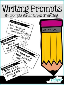 Writing Prompts (for all types of writing!)