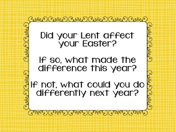 Writing Prompts for the Easter Season
