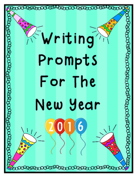 Writing Prompts for the New Year
