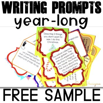 Writing Prompts for Middle School Bell Ringers - Free Sample