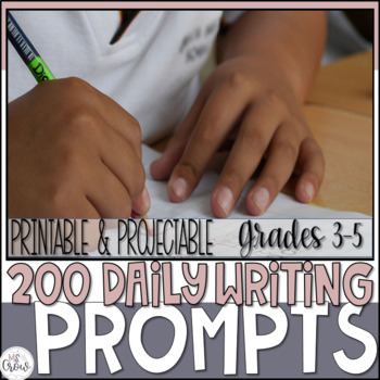 Writing Prompts for the YEAR Projectable and Printable
