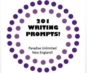 Writing Prompts for the Year Gr. 9-12