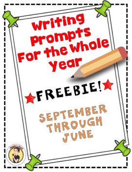 Writing Prompts for the Year Sample Freebie