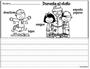 Writing Prompts in Spanish differentiated