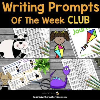 Writing Prompts of the Week BUNDLE