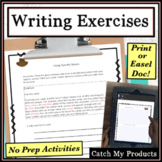 Flash Fiction Writing Prompts for Fifth Grade