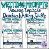 Writing Prompts to Develop Writing Skills {Various Topics} Bundle