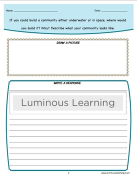 Writing Prompts to Spark Creativity: Grades 3 - 5