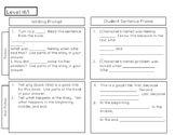 Writing Prompts to assist with mClass TRC