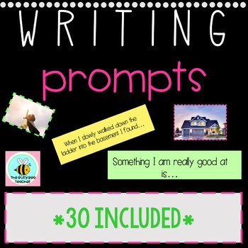 Writing Prompts *visual* for PRIMARY students