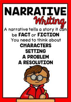 Writing Prompts (with Anchor charts and Activities)