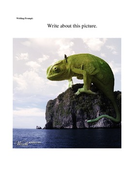 Writing Prompts with Awesome Pictures!
