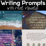 Writing Prompts with Real Images