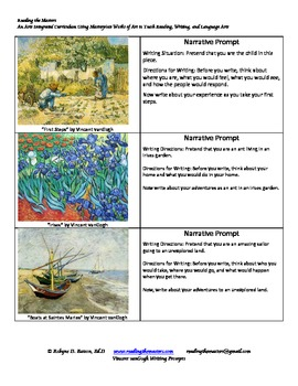 Writing Prompts with vanGogh