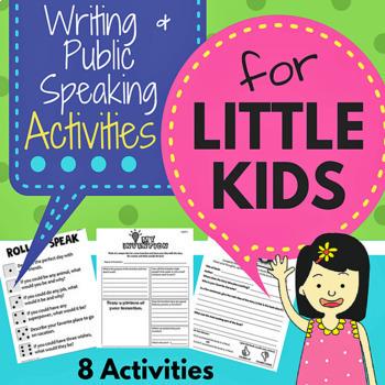 Writing & Public Speaking for Little Kids