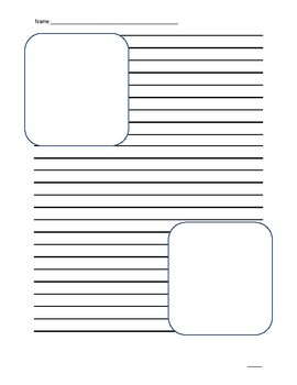 Writing Publishing Sheets with Drawing Boxes