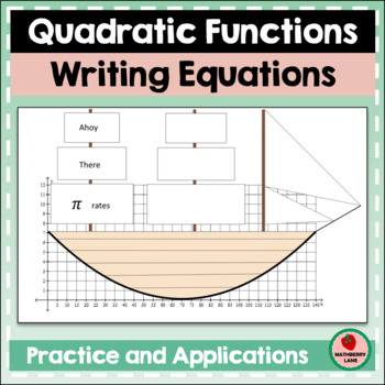 Writing Quadratic Functions - Equations Practice Review