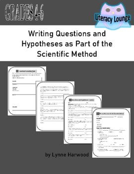 Writing Questions for the Scientific Method