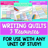 Writing Choice Boards Bundle