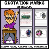 Quotation Marks Worksheets - Writing Quotation Marks in Dialogue Set 2