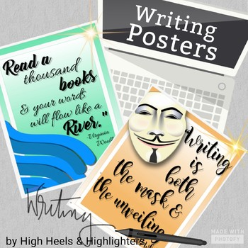 Writing Quote Posters