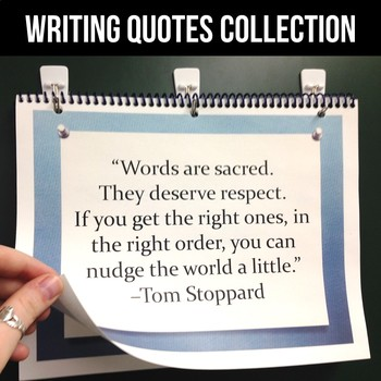FREE Writing Quote of the Week Collection