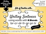 Writing Sentences with R-BLENDS for Struggling Writers
