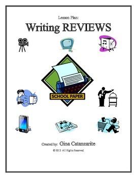 Writing REVIEWS Lesson Plan