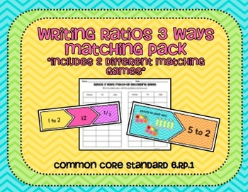 Ratios Matching Pack