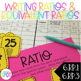 Writing Ratios & Equivalent Ratios CCSS 6.RP.1 & 6.RP.3 Aligned**