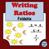 Writing Ratios Foldable