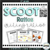 Writing Ratios SCOOT activity - with AND without QR Codes!
