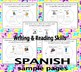 Writing & Reading Interactive Activities - Spanish Version