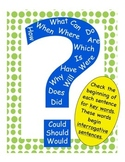 Writing & Reading Interrogative Sentences: Resources for Young Learners