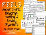 """Writing & Reading """"PEELS"""" Anchor Charts & Graphic Organizers"""