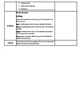 Writing Ready Gen Unit 1 Lesson 6