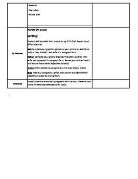 Writing Ready Gen Unit 1 Lesson 7 Module A