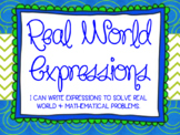 Writing Real World Expressions Lesson Bundle