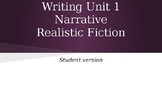 Writing Realistic Fiction - Units of Study 1