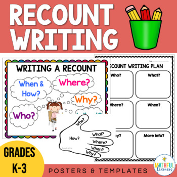 Writing Recounts Poster Set
