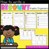 Writing Recounts - for Kindergarten, First, Second and Third Grade