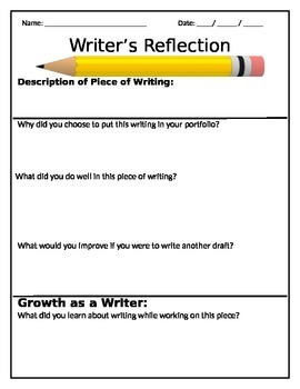 Writing Refection