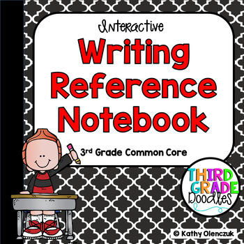 Writing Reference Notebook -- Third Grade Common Core