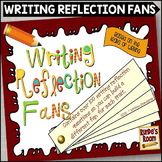 Writing Reflection Fans - Traits of Writing